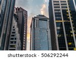 cityscape of american cities ...   Shutterstock . vector #506292244