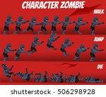 game kits adventure  character... | Shutterstock .eps vector #506298928