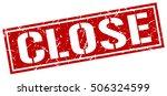 close. grunge vintage close...   Shutterstock .eps vector #506324599