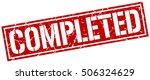 completed. grunge vintage... | Shutterstock .eps vector #506324629