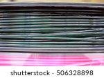 3d printing filament spools | Shutterstock . vector #506328898