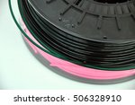 3d printing filament spool | Shutterstock . vector #506328910