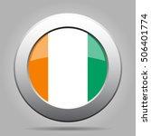 national flag of ivory coast.... | Shutterstock .eps vector #506401774
