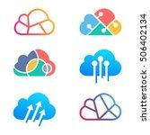 cloud technology logo design...