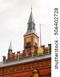 city hall of copenhagen  denmark | Shutterstock . vector #506402728