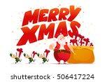 Vector Flat Merry Christmas An...