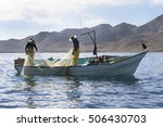 Fishing in the Sea of Cortez, Baja, Mexico