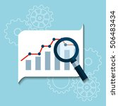 search engine optimization flat ...   Shutterstock .eps vector #506483434