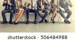 business team working break... | Shutterstock . vector #506484988