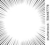 comics frame  vector   Shutterstock .eps vector #506487778