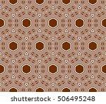 seamless sophisticated...   Shutterstock .eps vector #506495248