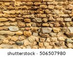 background of ancient  stone... | Shutterstock . vector #506507980