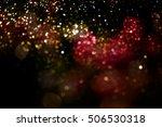 glitter wonderful lights... | Shutterstock . vector #506530318
