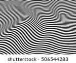 vector strips abstract... | Shutterstock .eps vector #506544283