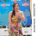 Small photo of Giffoni Valle Piana, Sa, Italy - July 19, 2011 : Antonella Ferrari at Giffoni Film Festival 2011 - on July 19, 2011 in Giffoni Valle Piana, Italy