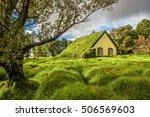 Turf Church In Small Icelandic...