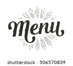 hand drawn custom lettering... | Shutterstock .eps vector #506570839