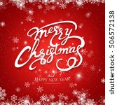 vintage merry christmas and...   Shutterstock .eps vector #506572138