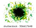abstract green background... | Shutterstock .eps vector #506617648