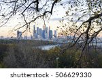 moscow view of the skyscrapers...   Shutterstock . vector #506629330