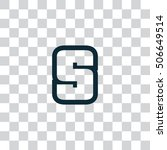 letter s vector  logo. useful...