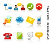communication icons | Shutterstock .eps vector #50665951