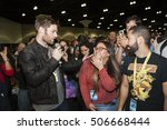 stan lees los angeles comic con ... | Shutterstock . vector #506668444