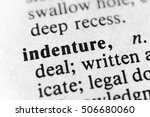Small photo of Indenture