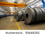 industrial warehouse | Shutterstock . vector #50668282