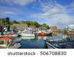 Padstow Harbour In Autumn ...