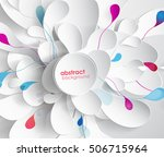 abstract colored background... | Shutterstock .eps vector #506715964