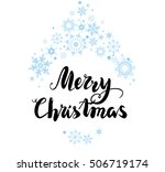 christmas greetings card | Shutterstock .eps vector #506719174