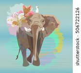 abstract watercolor ...   Shutterstock .eps vector #506722126