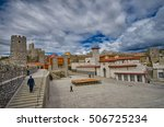 famous renovated medieval... | Shutterstock . vector #506725234