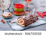 Bush De Noel Christmas Log Cake ...