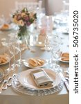 Elegant Wedding Table ...