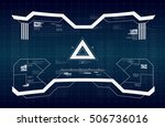 abstract future  concept vector ... | Shutterstock .eps vector #506736016