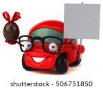 fun car   3d illustration | Shutterstock . vector #506751850
