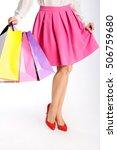 people  sale  black friday... | Shutterstock . vector #506759680