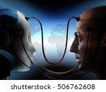 artificial intelligence... | Shutterstock . vector #506762608