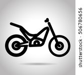 trials bike icon | Shutterstock .eps vector #506780656