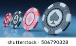 gambling and casino concept ... | Shutterstock . vector #506790328