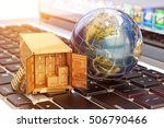 internet shopping and e... | Shutterstock . vector #506790466