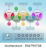 collection of vector... | Shutterstock .eps vector #506794738