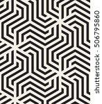 vector seamless pattern. modern ... | Shutterstock .eps vector #506795860