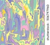 seamless pattern print... | Shutterstock .eps vector #506797960