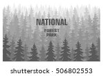 forest plantations forest... | Shutterstock . vector #506802553