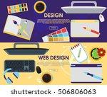 graphic design. web design....   Shutterstock .eps vector #506806063