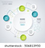 vector elements for infographic.... | Shutterstock .eps vector #506813950