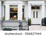 front of english house | Shutterstock . vector #506827444